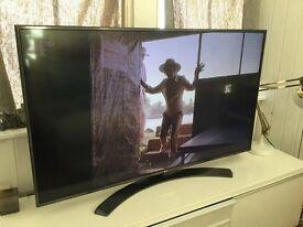 LG 55UH661V 55 inch, 4K, Ultra HD, HDR, Smart LED TV with Metallic Design