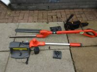 Flymo 24V Battery Sabre Trimmer and Saw