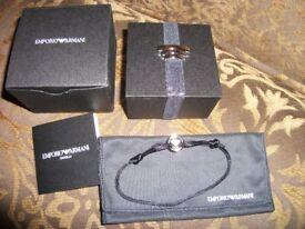 New is box genuine Armani bracelet.