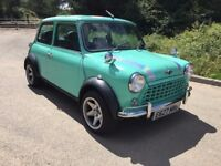 1987 CLASSIC AUSTIN MINI MAYFAIR NEW MOT 53,000 MILES £4995 O-N-O