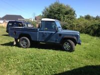 Landrover defender 110 high capity pick up 300. good condition £4000