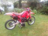 Honda crm 250 mark 1 1989 classic evo not honda cr 125 250 crf kxf kx yzf