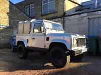 Land Rover Defender 90 200tdi modified lifted 12months MOT galv chassis
