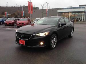 2015 Mazda Mazda6 GT..WITH TECH PKG..$184 BI-WEEKLY..NEW TIRES!!