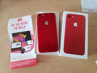 Special Edition Apple iPhone 7 Red Unlocked 128gb from Argos York for £679 on 15/5/2017