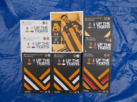 Hull City Programmes