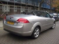 FORD FOCUS CC 1.6 NEW SHAPE **** CONVERTIBLE CABRIOLET HARDTOP **** £1795 ONLY = 3 DOOR COUPE