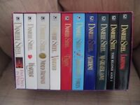 Boxed set of 10 Danielle Steel paperbacks - new and unread.