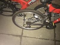 2 trax mountain bikes for sale