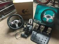 Logitech G25 gaming wheel