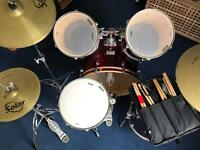 Mapex 5 Piece Drum kit for sale (plus extras)