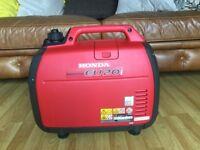 HONDA EU20i inverter generator like new condition collection Luton no offers!!!