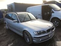 Bmw 320d Estate car parts 2004 year manual -Spare Parts