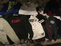 Boys clothes 8-10 years old. In great condition, some items only worn once.Brand names adidas, hnm,