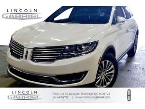 2016 Lincoln MKX SELECT+ AWD+CAMERA+CRUISE+PADEL SHIFT+JAMAIS