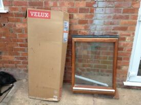 Velux's wooden window