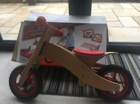 Schwinn Wooden Balance Bike (used)