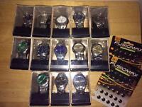 13 BNIP men's watches