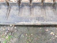 Mini digger track