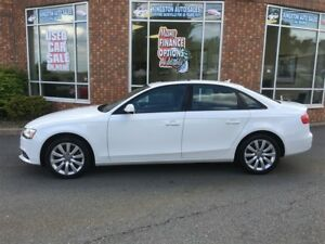 2013 Audi A4 2.0T Premium AWD | $104/wk, tax in, $0 down (60mo)