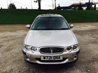 2001 Rover 25 1.4 16v Silver Metallic 44,000