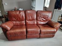 Recliner 3 Seat Sofa & 2 Armchairs