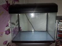 Fish tank, filter and stand