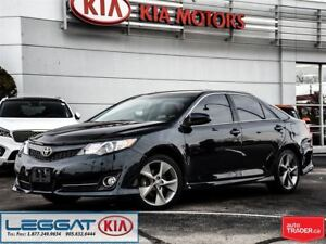2012 Toyota Camry SE - CD Player, Sunroof, & Leather Seats