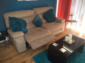 Two seater recliner sofa for sale £300 ONO
