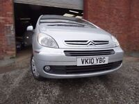 010 CITROEN PICASSO DESIRE HDI 1.6 DIESEL,MOT DEC 017,2 OWNER FROM NEW,PART HISTORY,STUNNING CAR