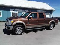 2011 Ford F-250 Lariat,DIESEL,CREW,FX4,LEATHER,NEW MICHELINES!!