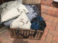 Wedding decor blanket bundle