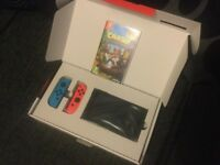 Brand new Nintendo switch with game