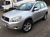 Toyota RAV4 AUTO 2.0 XT3 Station Wagon 5dr MAY p/x 2007 (07 reg), SUV HPI CLEAR FULL S/H 3 KEYS