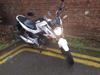 Honda cbf 125cc perfect no fault fully service