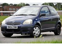 2004 Toyota Yaris 1.0 VVT-i T3 3dr+HATCHBACK+LONG MOT+CHEAP TO RUN
