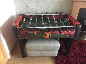 Man U Football Table