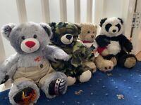 4 'Build a Bear' bears