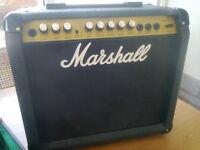 Marshall 20watt valvestate guitar amp with spring reverb