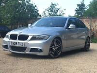 BARGAIN CAT D BMW 330D M SPORT FACELIFT LCI SAT NAV CHEAPEST IN UK