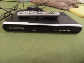 Sagem DTR67320T Freeview box recorder 320GB