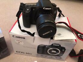 Cannon EOS 60D Camera