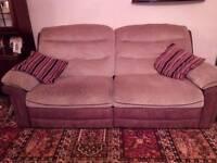 Electric recliner sofa