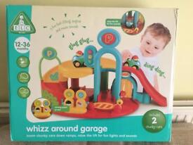 Early learning centre whizz around garage