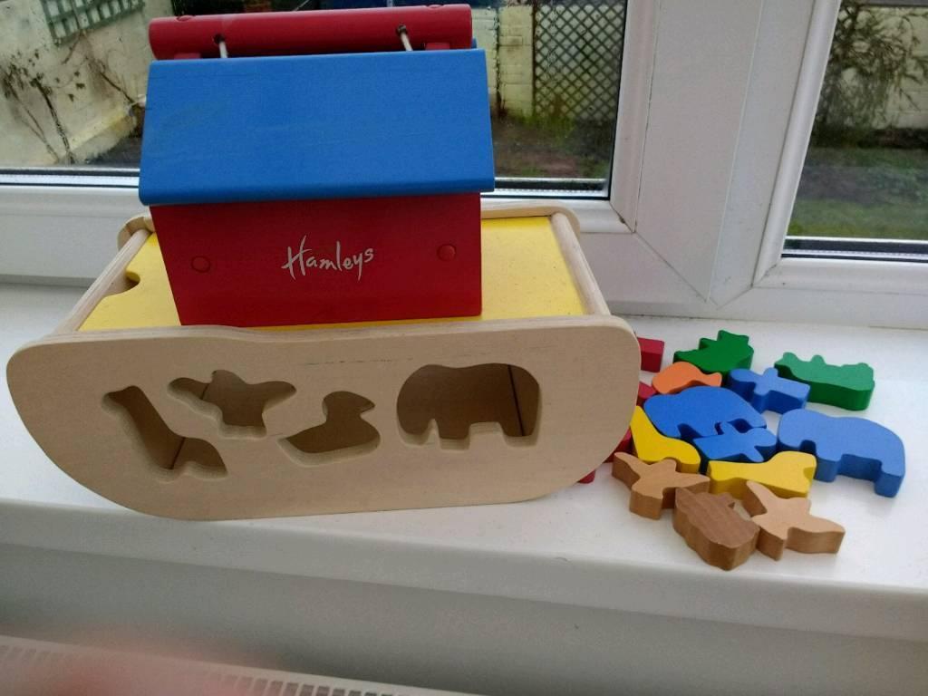 Hamley 's wooden toy