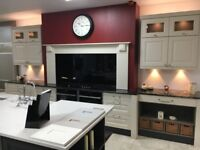 EX DISPLAY KITCHEN UNITS AND WORKTOPS