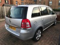 Vauxhall Zafira 1.6 i 16v Exclusiv 5dr- 7 seater- Manual- 2009 model