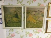 Lovely Large Children's Vintage Prints.