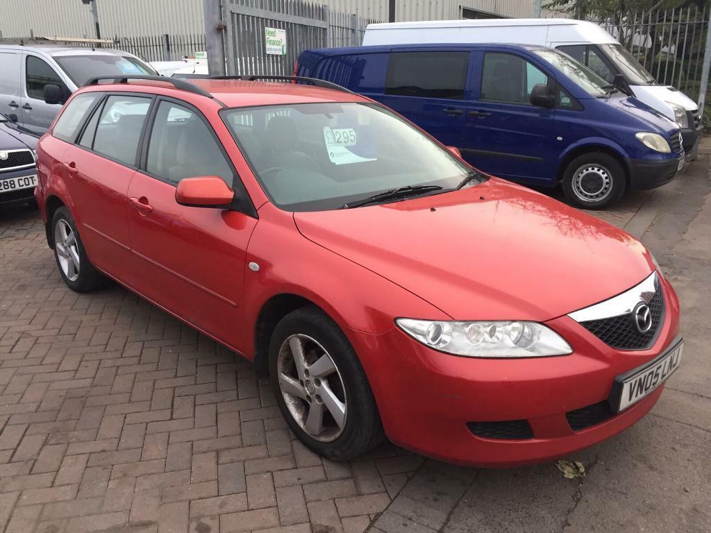 2005 05 MAZDA 6 DIESEL ESTATE DRIVES WITH MOT BUT SPARES OR REPAIR NEEDS CLUTCH ENGINE PERFECT !!!