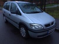 Vauxhall Zafira 1.6 petrol great conditions mot till July